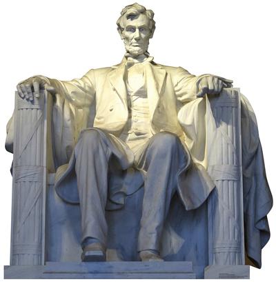 Lincoln Memorial Cardboard Cutouts