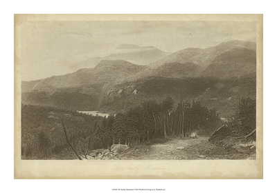The Smoky Mountains Giclee Print by R. Hinshelwood