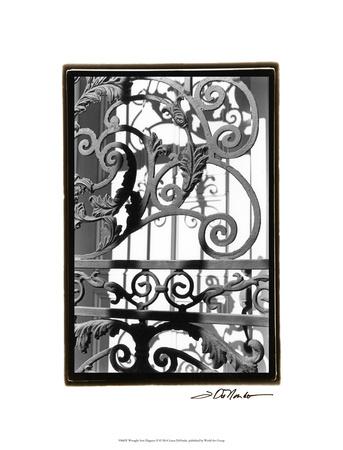 Wrought Iron Elegance II Premium Giclee Print by Laura Denardo