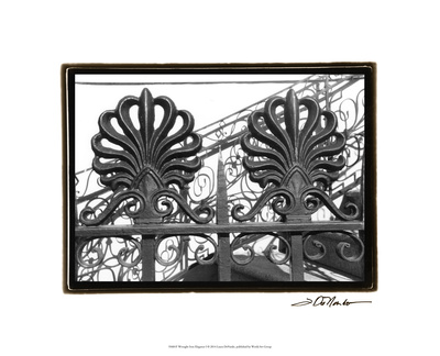 Wrought Iron Elegance I Premium Giclee Print by Laura Denardo