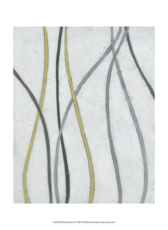 Bob & Weave II Prints by June Erica Vess