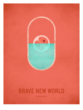 Brave New World Posters by Christian Jackson