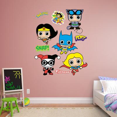 DC Comics Girl Power Collection Wall Decal