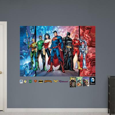 Justice League Mural Wall Mural