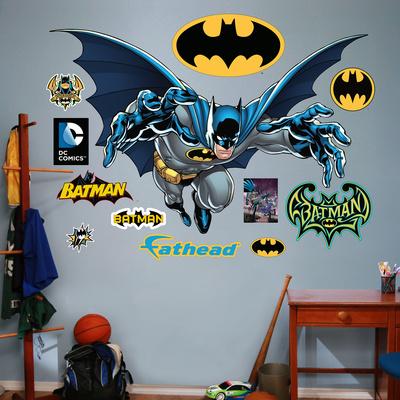 Batman - Leaping Wall Decal