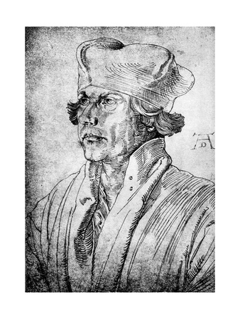 Portrait of the Artist's Mother, 1514 Giclee Print by Albrecht Durer