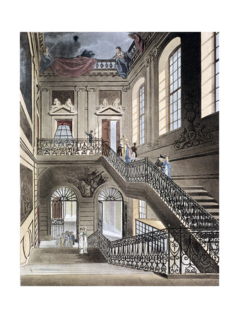 British Museum, Holborn, London, 1808 Giclee Print by Augustus Charles Pugin