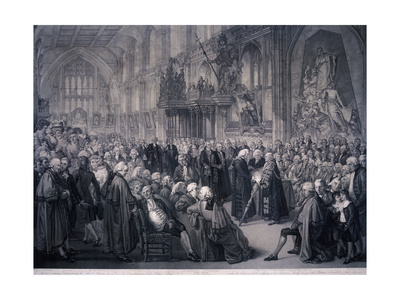 Inaugaration of Lord Mayor Nathaniel Newnham, London, 1801 Giclee Print by Benjamin Smith