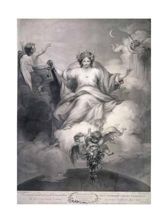 Providence, 1799 Giclee Print by Benjamin Smith