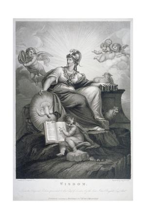 Wisdom, 1794 Giclee Print by Benjamin Smith