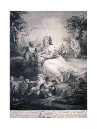Innocence, 1799 Giclee Print by Benjamin Smith
