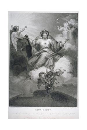 Providence, 1794 Giclee Print by Benjamin Smith