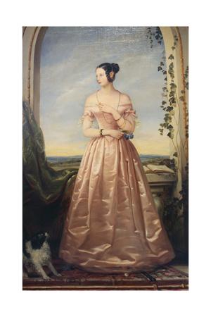 Portrait of the Grand Duchess Alexandra Nikolaevna, 1840 Giclee Print by Christina Robertson