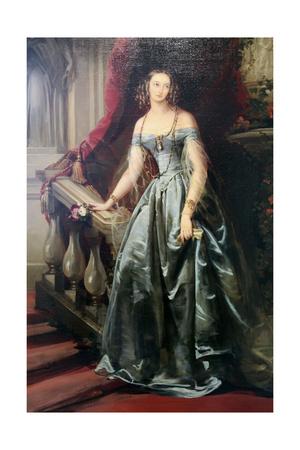 Portrait of the Grand Duchess Olga Nikolaevna, 1841 Giclee Print by Christina Robertson