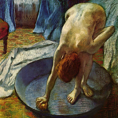 Woman in a Tub, 1886 Giclee Print by Edgar Degas