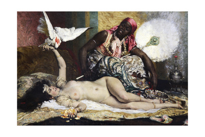 Odalisque, 1880S Giclee Print by Ferdinand Roybet