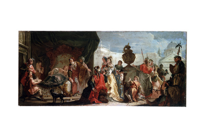Antiochus and Stratonice, 18th Century Giclee Print by Francesco Fontebasso