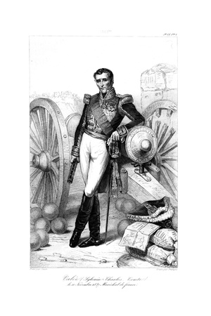 Sylvain Charles Valée (1773-184), Marshal of France, 1839 Giclee Print by Francois