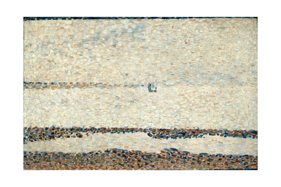 Beach at Gravelines, 1890 Giclee Print by Georges Seurat