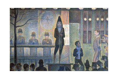 Circus Sideshow, 1887-1888 Giclee Print by Georges Seurat