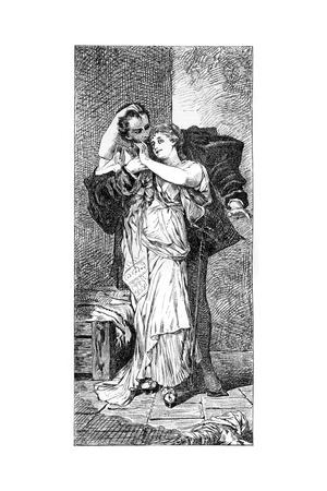 Faust, C1880-1882 Giclee Print by Hans Makart