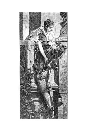 Romeo and Juliet, C1880-1882 Giclee Print by Hans Makart
