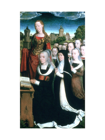Triptych of the Family Moreel, 1484 Giclee Print by Hans Memling