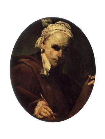 Self-Portrait, C1700 Giclee Print by Giuseppe Maria Crespi