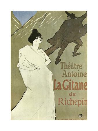 La Gitane, 1899-1900 Giclee Print by Henri de Toulouse-Lautrec