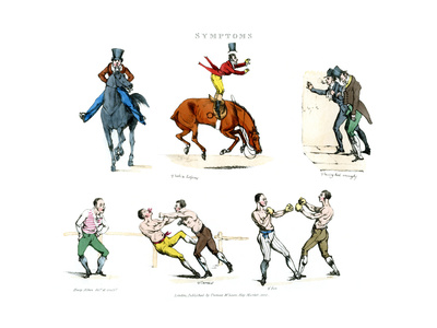Symptoms of Being Amused, 1822 Giclee Print by Henry Thomas Alken