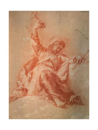 Allegory of the Faith, 18th Century Giclee Print by Jacopo Guarana