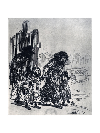 After the Seizure, 1925 Giclee Print by Jean Louis Forain
