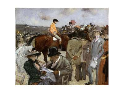Horseracing, 1888 Giclee Print by Jean Louis Forain