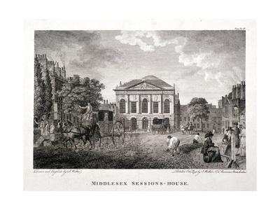 Clerkenwell Green, Finsbury, London, 1796 Giclee Print by James Walker