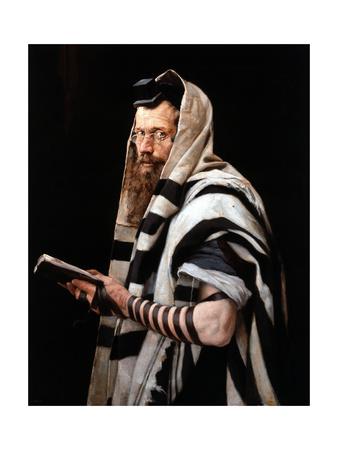 Rabbi, 1892 Giclee Print by Jan Styka