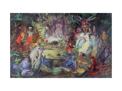 The Fairy Banquet, 1832-1906 Giclee Print by John Anster Fitzgerald