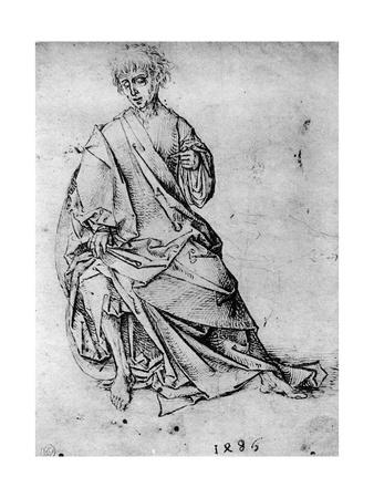 Study of a Man, 1913 Giclee Print by Martin Schongauer