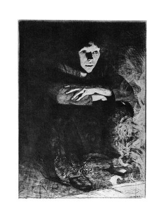 Dans Les Cendres, C1870-1930 Giclee Print by Paul Albert Besnard