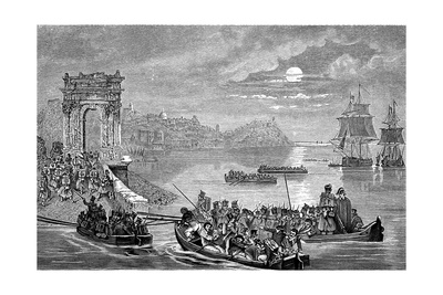 Occupation of Ancona by the French, Italy, 23 February 1832 Giclee Print by Philippe Auguste Jeanron