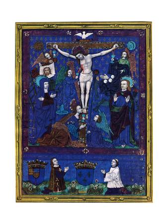 Plaque, Enamel Paint on Copper, 1503 Giclee Print by Nardon Penicaud