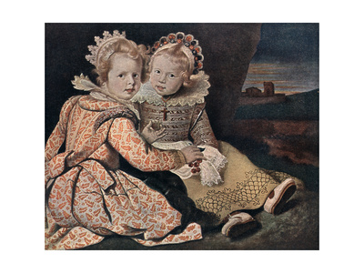 Daughters of the Painter, 17th Century Giclee Print by Paul de Vos