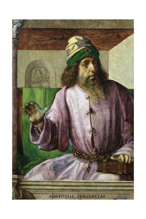 Aristotle, Ancient Greek Philosopher and Scientist, C1470-C1504 Giclée-tryk af Pedro Berruguete