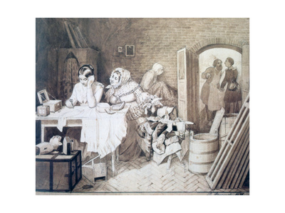 Mousetrap, 1846 Giclee Print by Pavel Andreevich Fedotov