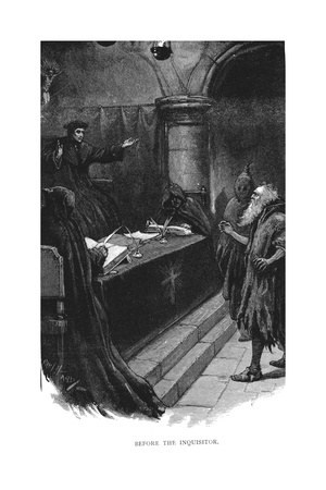 Spanish Jew before Grand Inquisitor, 1891 Giclee Print by Paul Hardy