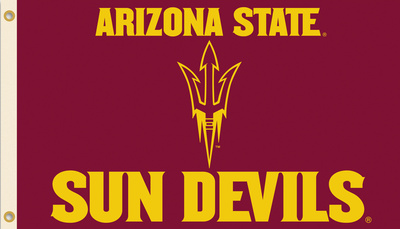 NCAA Arizona State Sun Devils Flag with Grommets Flag