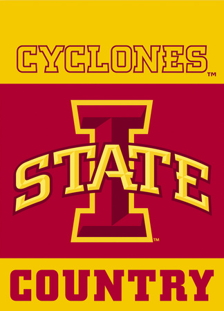 NCAA Iowa State Cyclones 2-Sided Country Garden Flag Flag