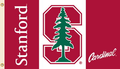 NCAA Stanford Flag with Grommets Flag