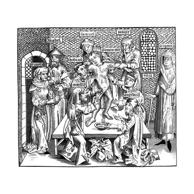 The Martyrdom of Simon of Trent, 1493 Giclee Print by Pierre Wolgmuth