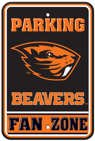 NCAA Oregon State Beavers Parking Sign Wall Sign