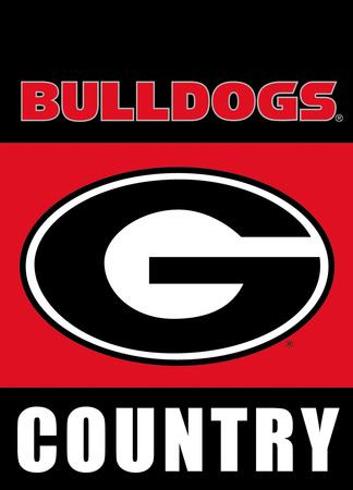 NCAA Georgia Bulldogs 2-Sided Country Garden Flag Flag